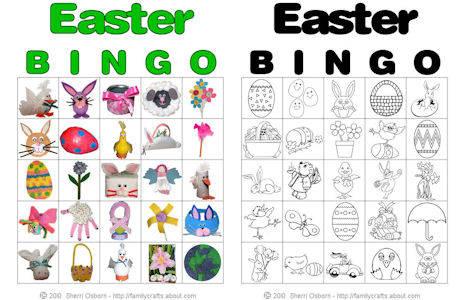 graphic about Bible Bingo Printable identified as Easter Bingo Bingo Faculty